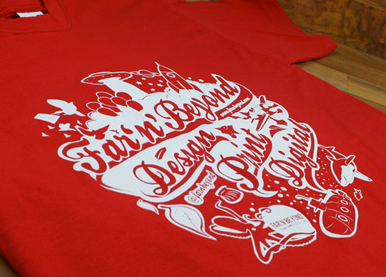 Screen Printed T Shirt