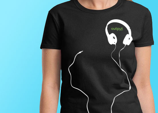 Nothing 39 beats 39 free promotional t shirts the t shirt for Print company t shirts